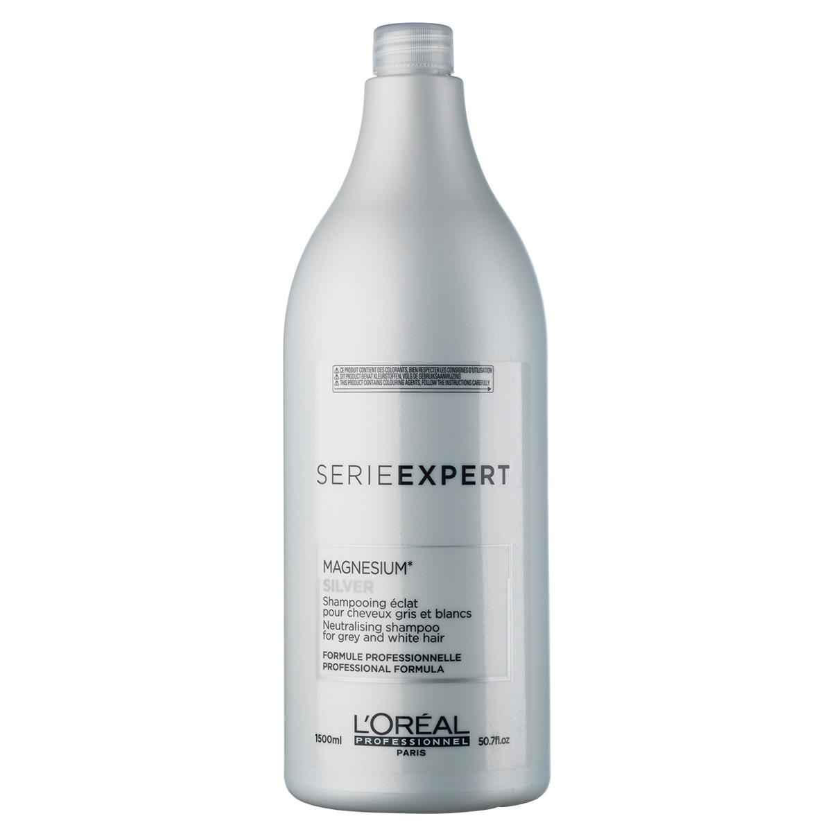 Image of   LOréal Série expert Magnesium Silver Shampoo - 1500 ml
