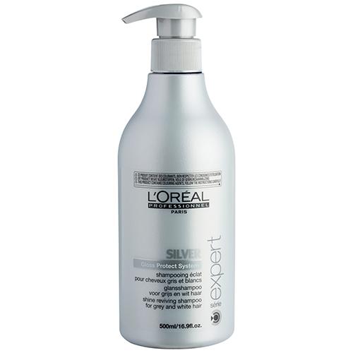 Image of   LOréal Série Expert Silver Shampoo - 500 ml