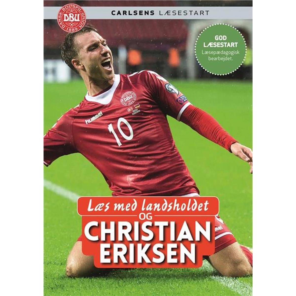 Image of   Læs med landsholdet og Christian Eriksen - Indbundet