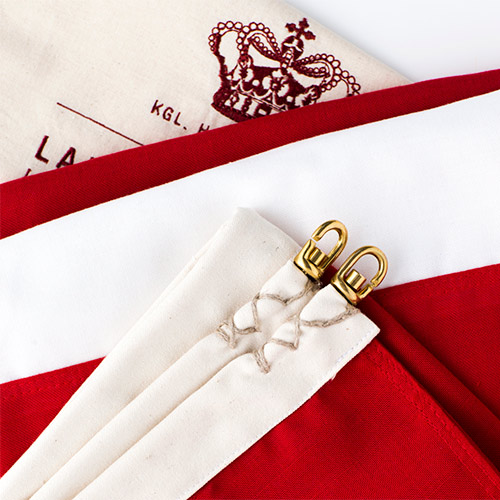 Langkilde & Søn dannebrog luksus flag til 10 meters flagstang