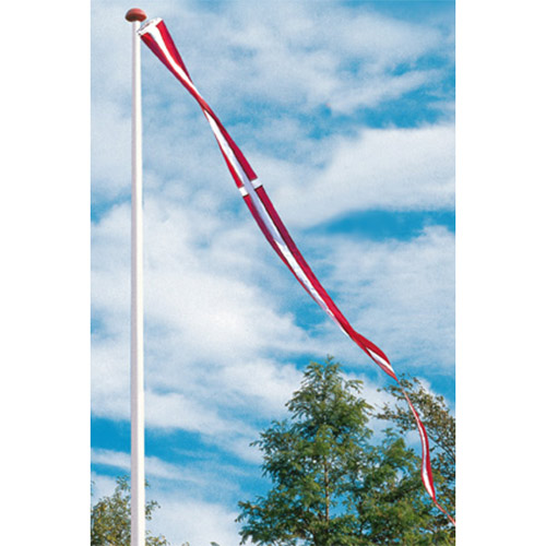 Billede af Langkilde & Søn dannebrogsvimpel til 6 meters flagstang
