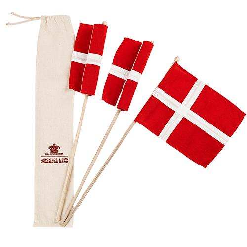 Billede af Langkilde & Søn hurraflag i pose - 3 stk.