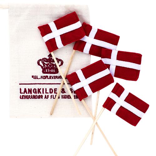Billede af Langkilde & Søn lagkageflag - 5 stk.