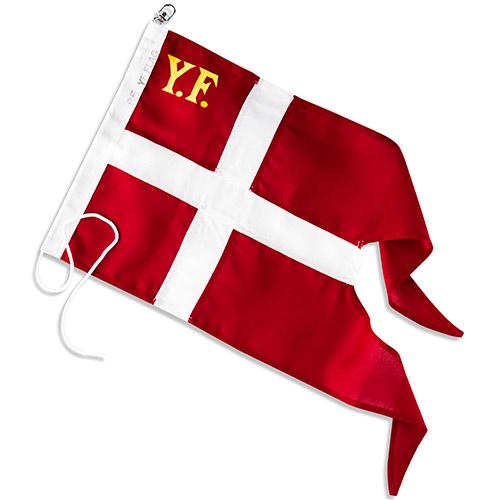 Billede af Langkilde & Søn yachtflag til 35 fods båd