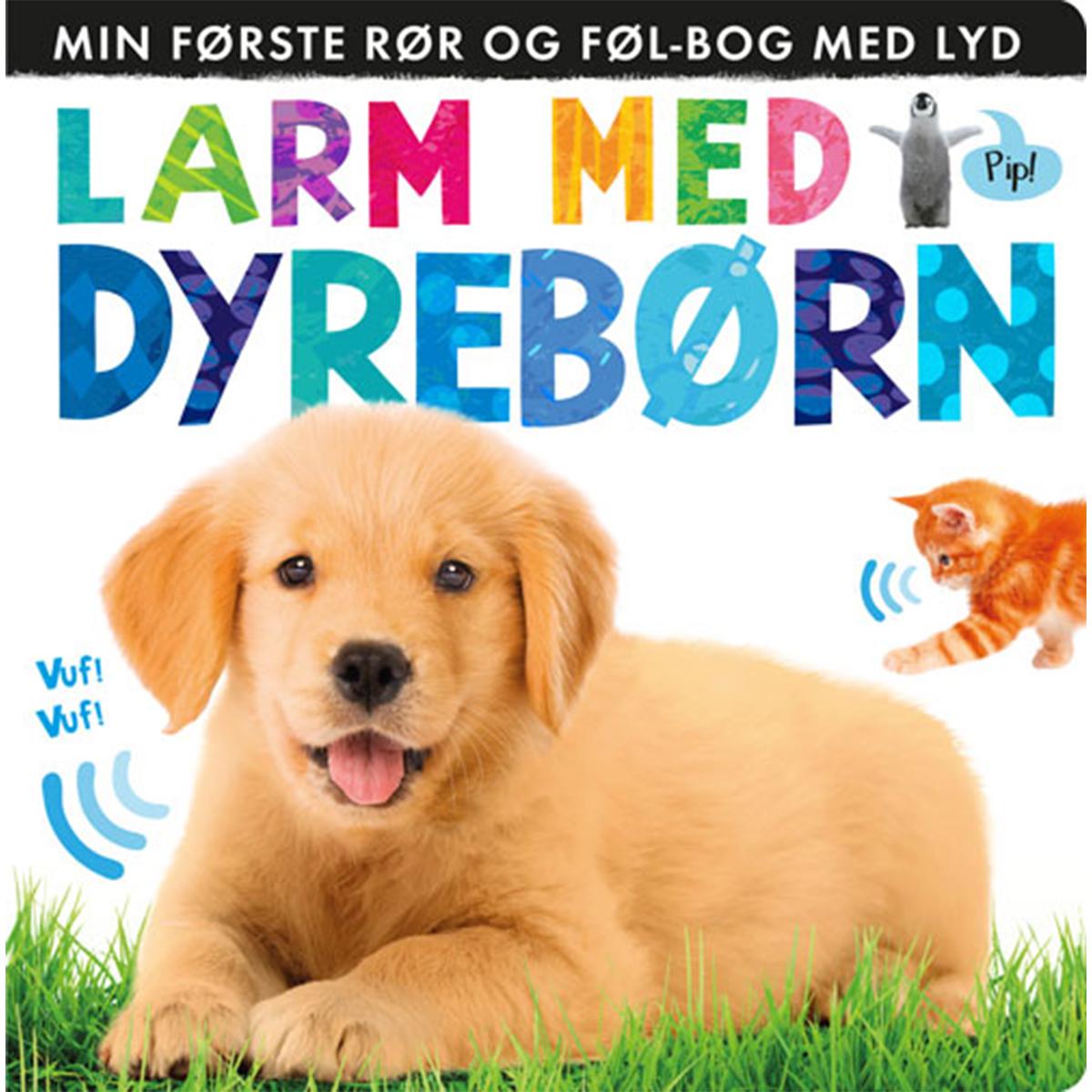 Image of   Larm med dyrebørn - Papbog