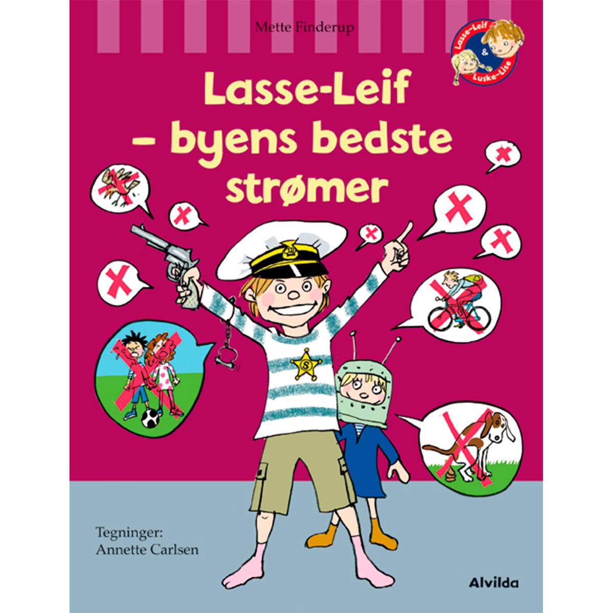 Image of   Lasse-Leif - byens bedste strømer - Lasse-Leif 14 - Indbundet