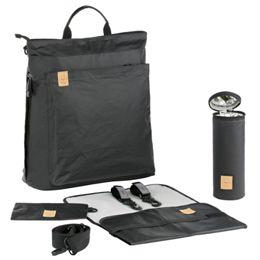 Lässig pusletaske - Tyve Diaper Backpack - Sort