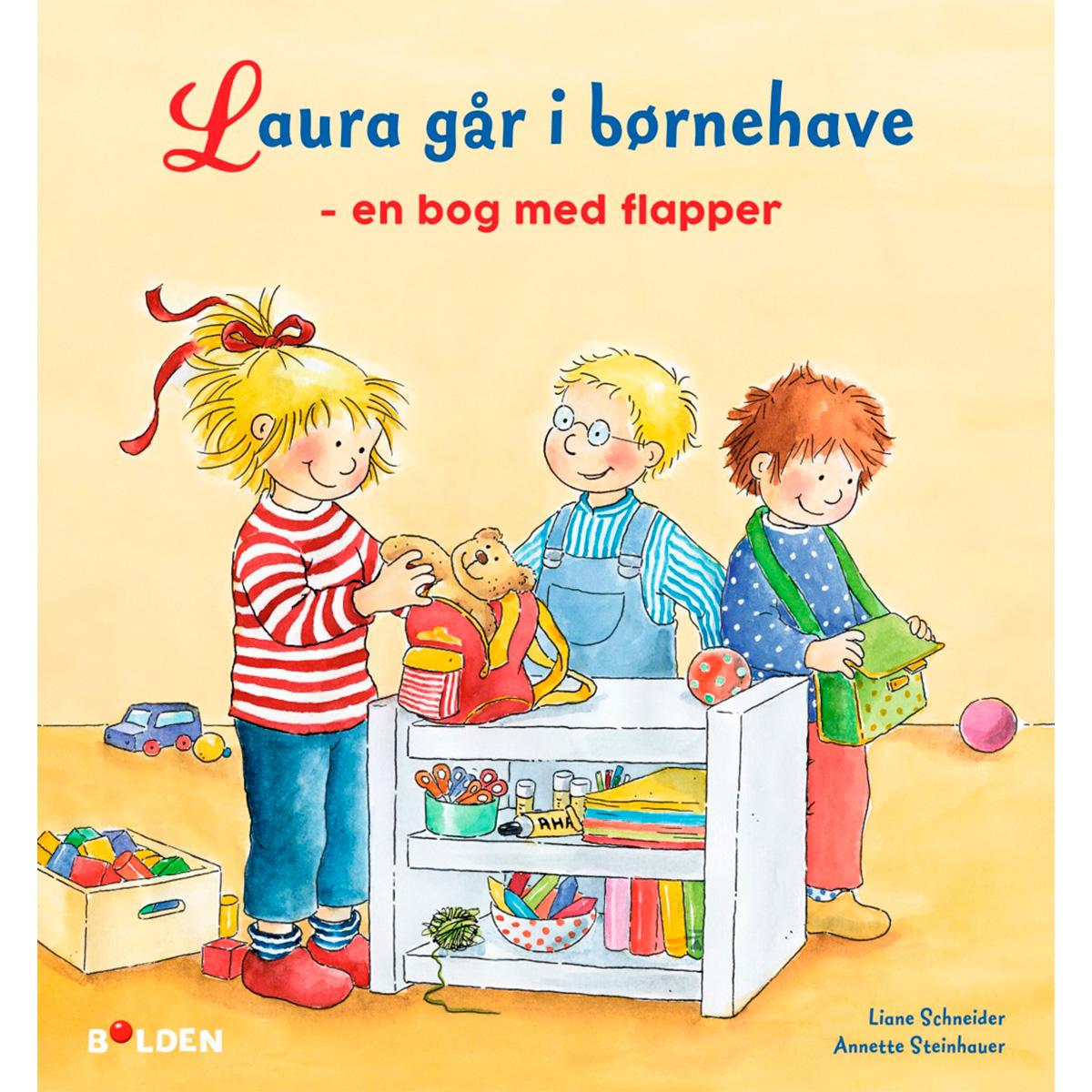 Image of   Laura går i børnehave - Papbog