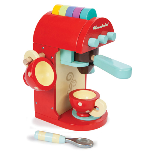 Image of   Le Toy Van espressomaskine