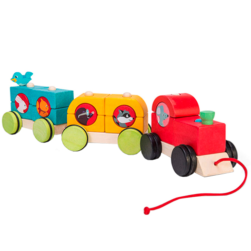 Image of   Le Toy Van Petilou stabeltog