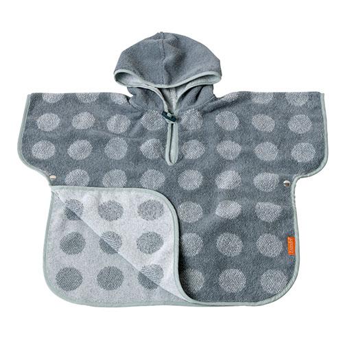 Image of   Leander babyhåndklæde - Matty Poncho - Mint