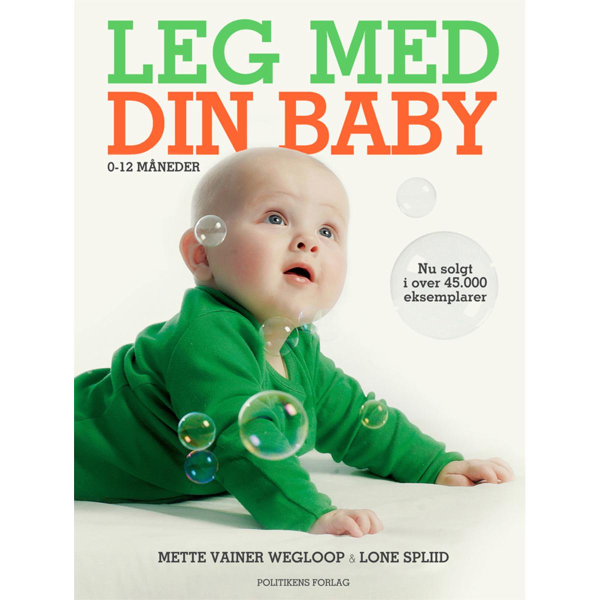 Image of   Leg med din baby - 0-12 måneder - Indbundet