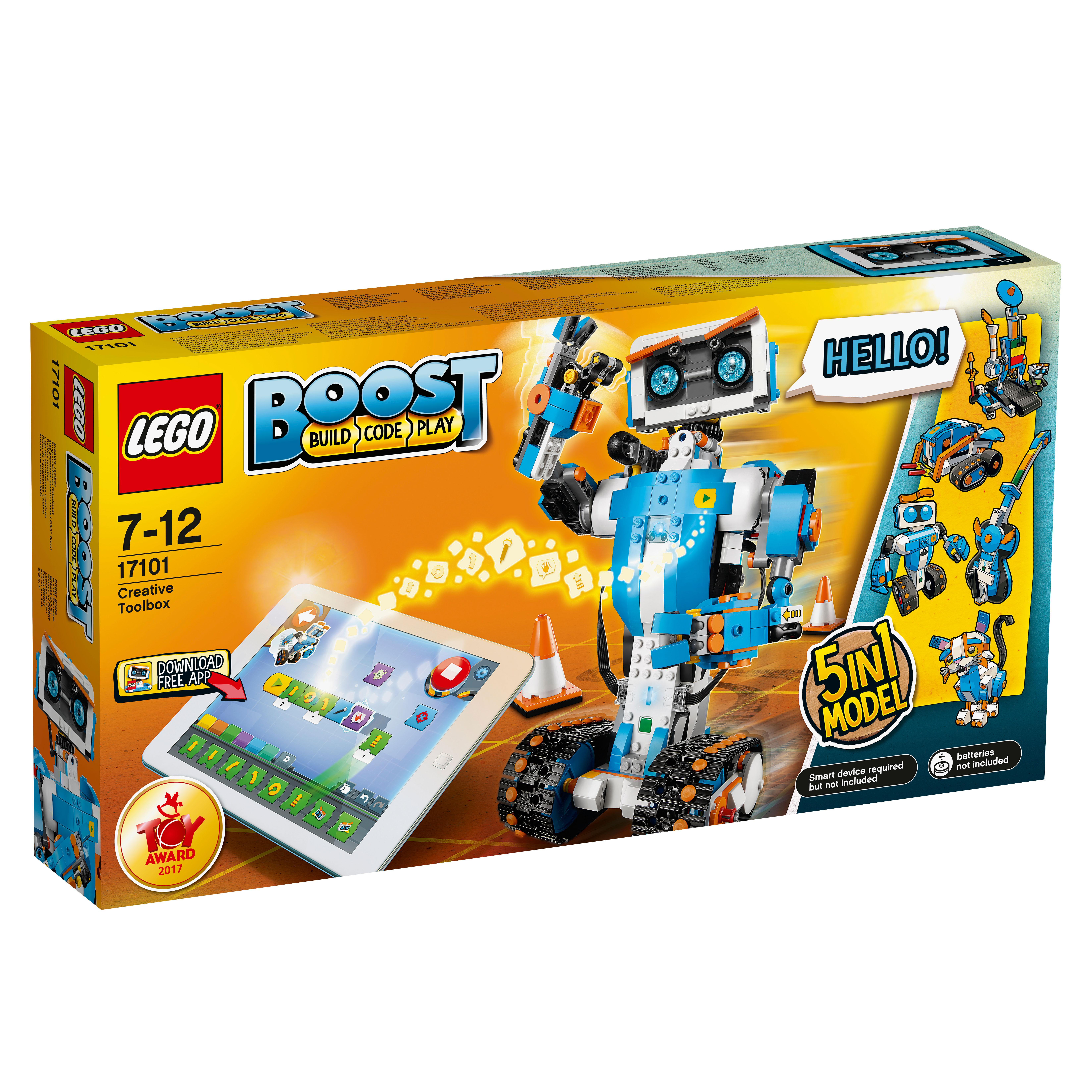Image of   LEGO Boost Kreativ værktøjskasse