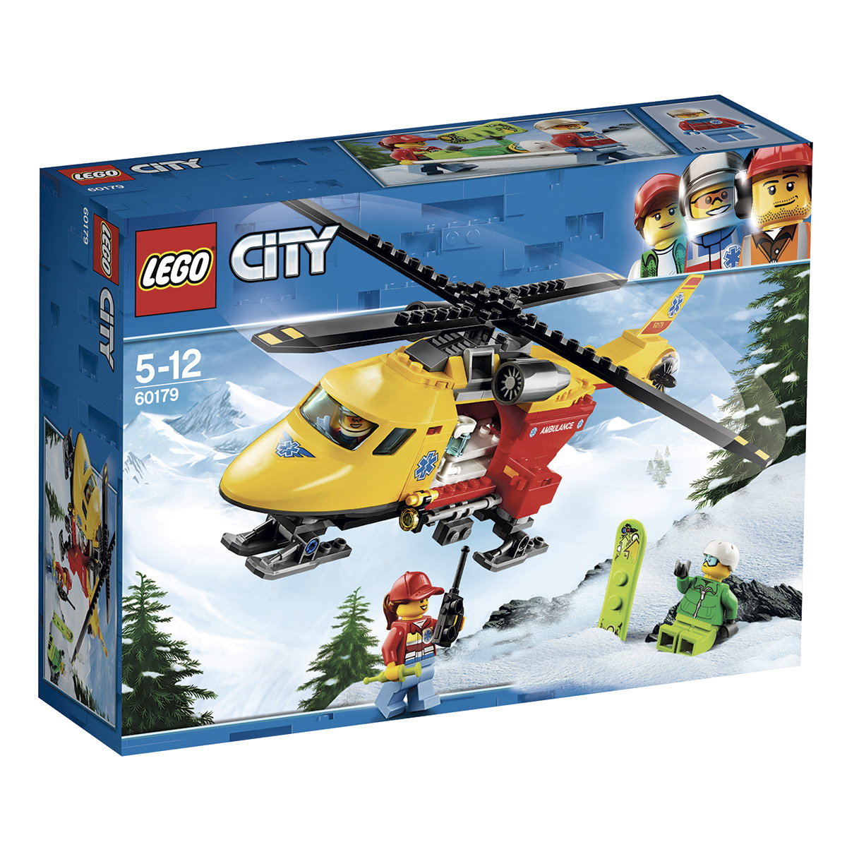 Image of   LEGO City Ambulancehelikopter