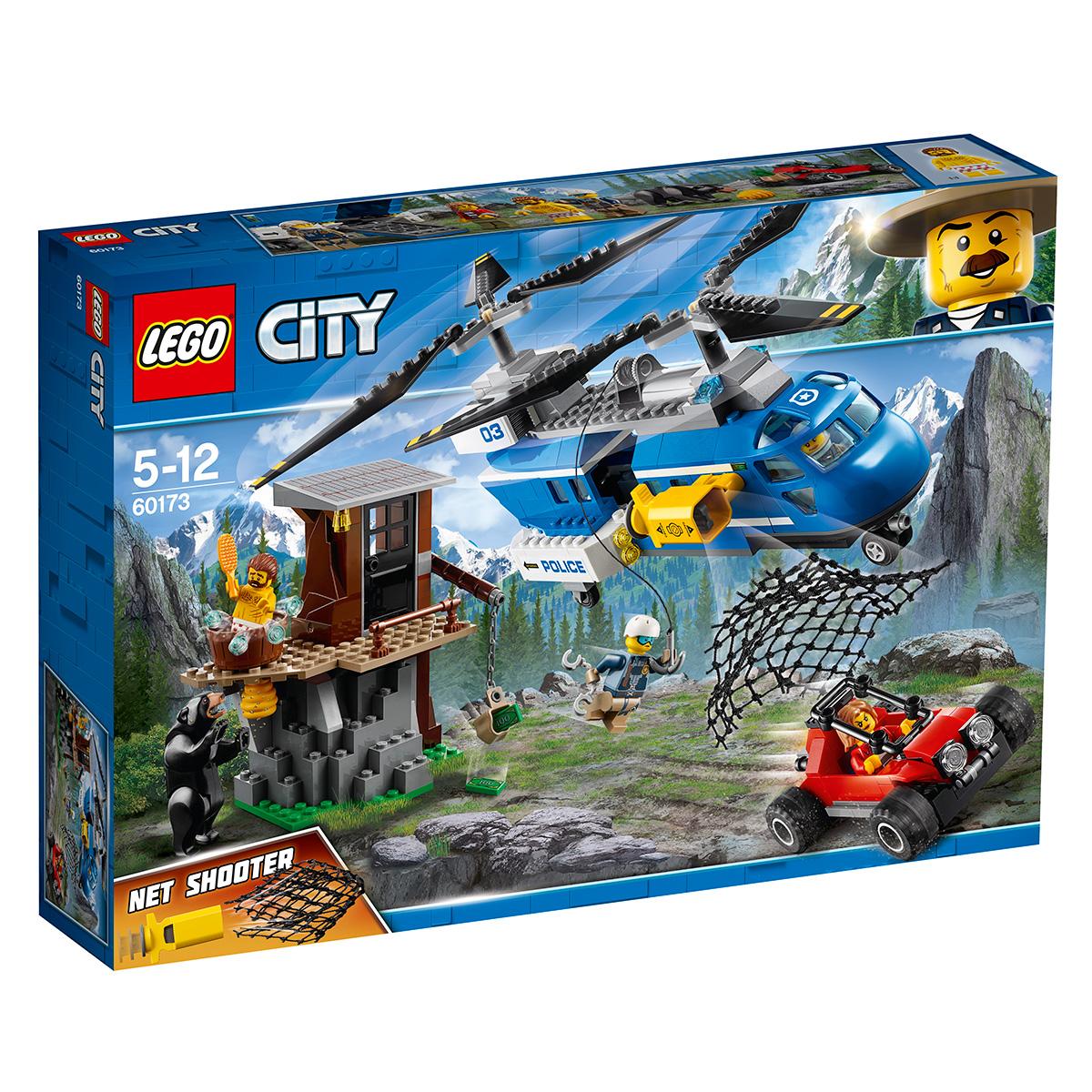 LEGO City Anholdelse på bjerget