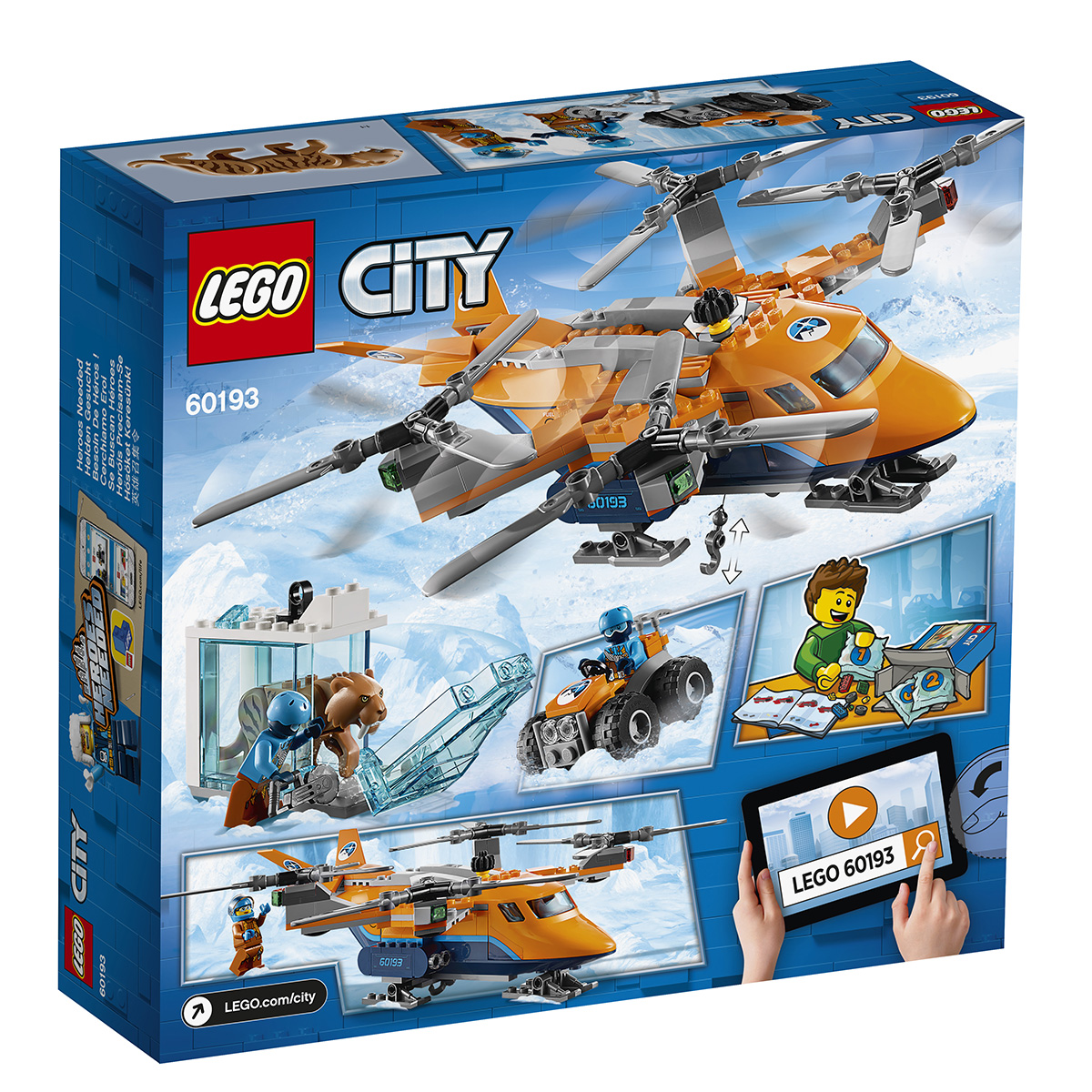 Image of   LEGO City Arktisk istransporter