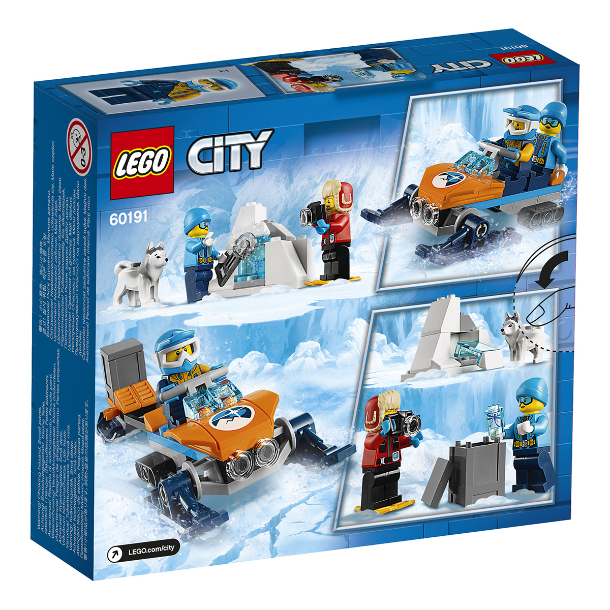 Image of   LEGO City Arktisk polarforsker