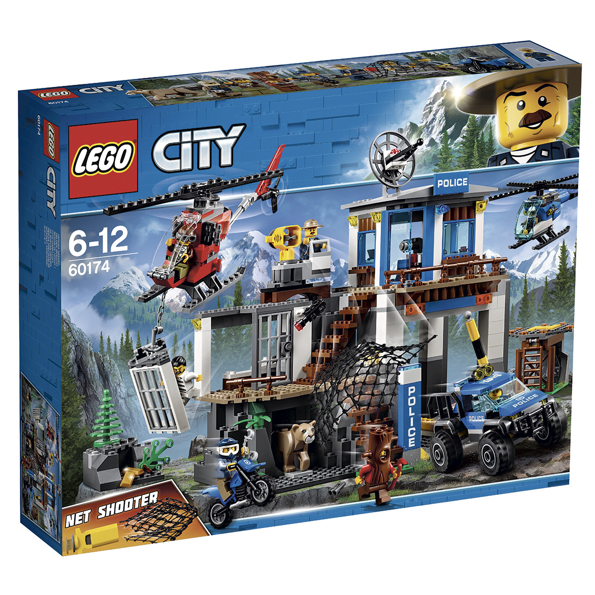 LEGO City Bjergpolitiets hovedkvarter