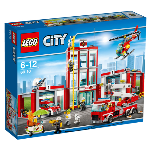 Image of   LEGO City brandstation