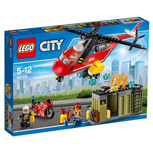 Billede af LEGO City Brandvæsnets udrykningsenhed