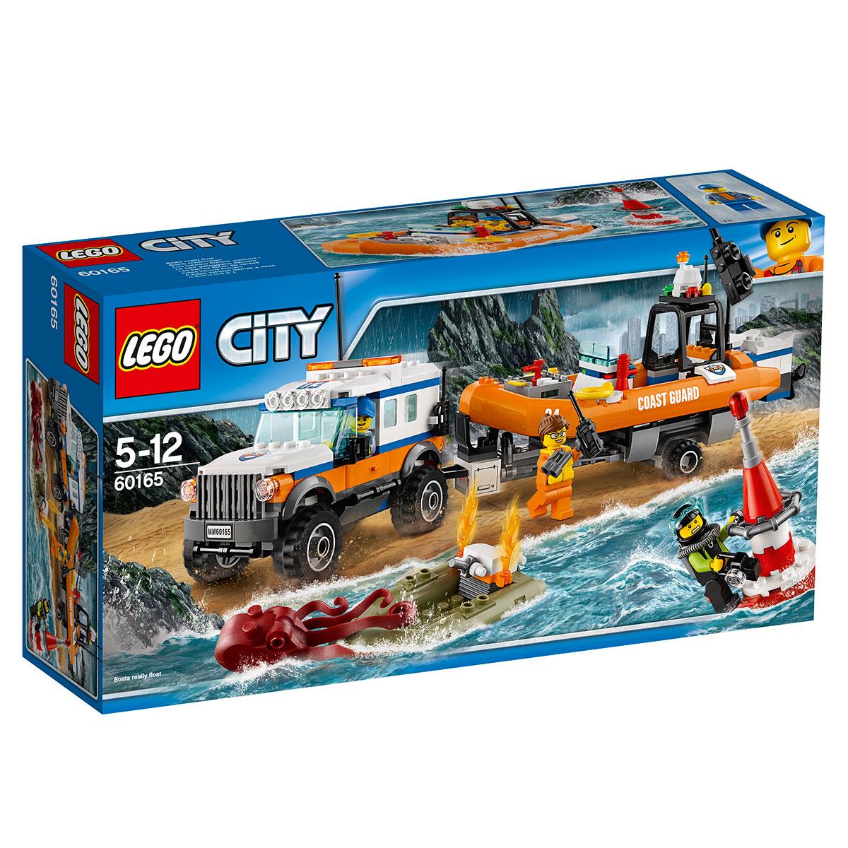 Image of   LEGO City firhjulstrukket udrykningsenhed