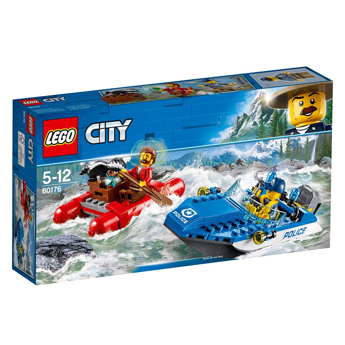 LEGO City Flugt på floden