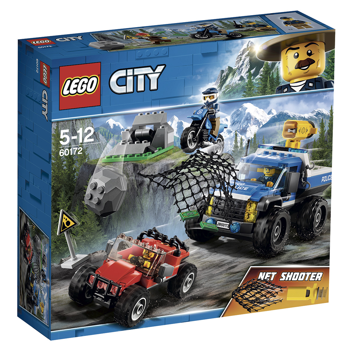Image of   LEGO City Jagt på grusvej