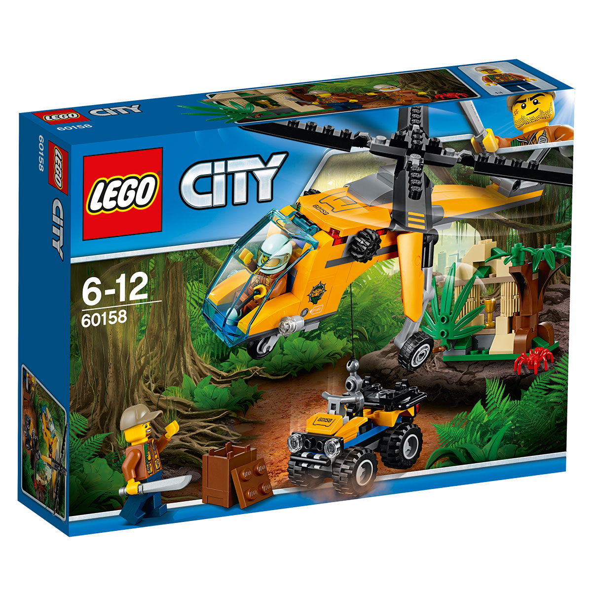 Image of   LEGO City Junglefragthelikopter