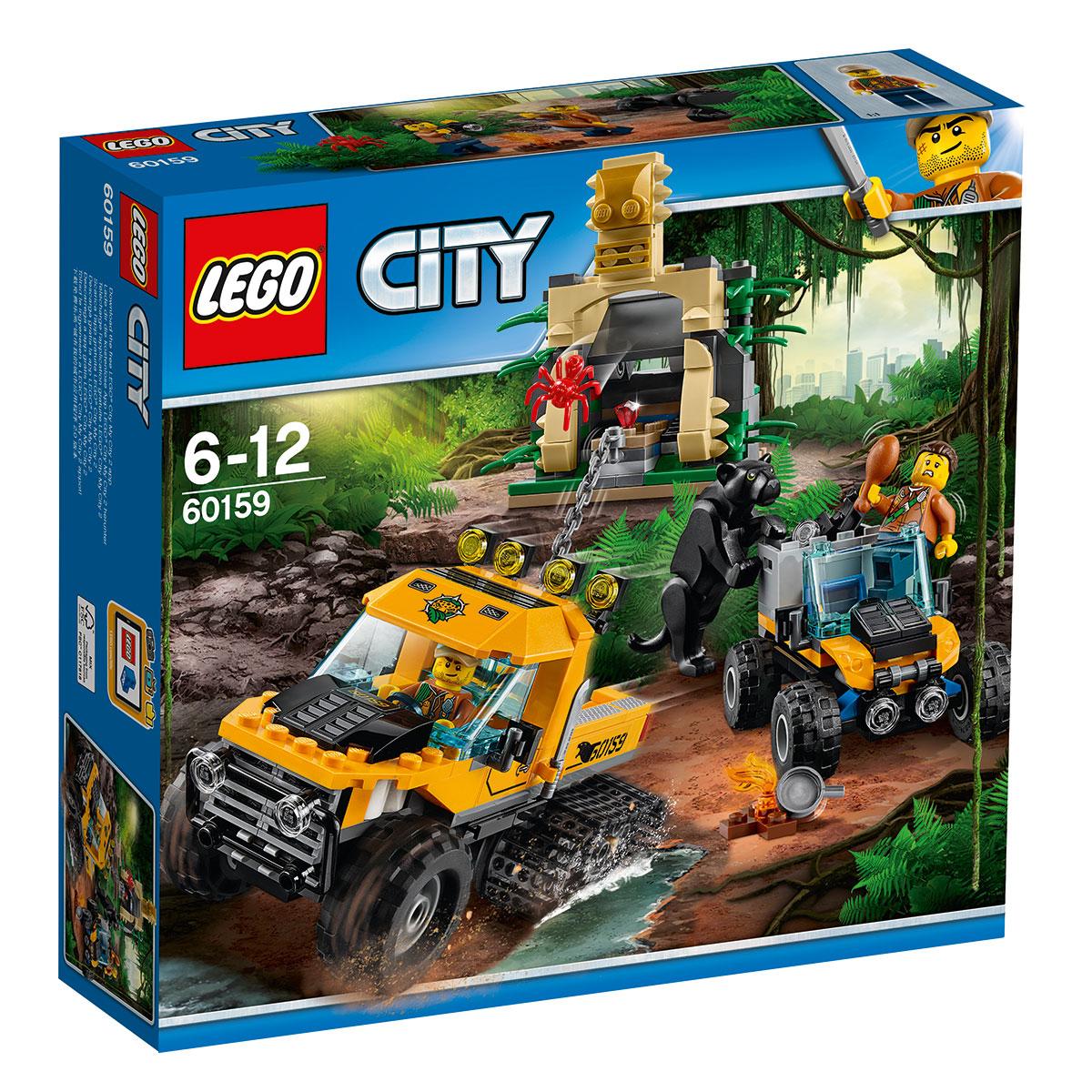 LEGO City Junglemission i hjul- og bæltekøretøj