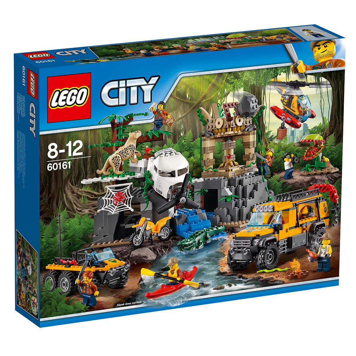 Image of   LEGO City jungleudforskning