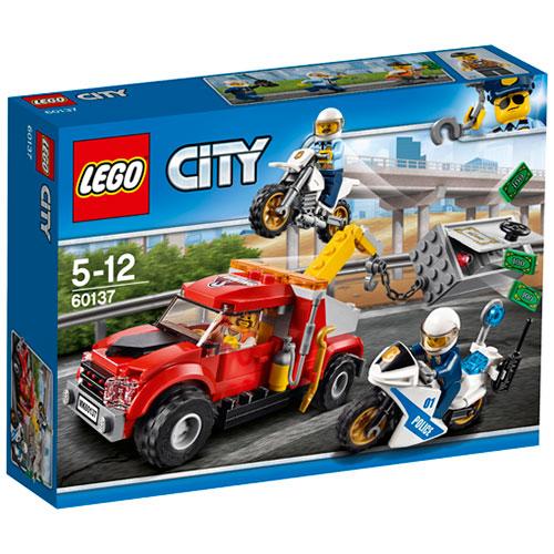 LEGO City Kranvogn kaos