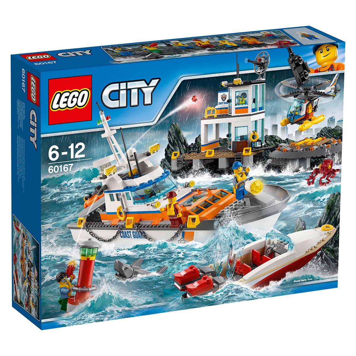 Image of   LEGO City kystvagtens hovedkvarter