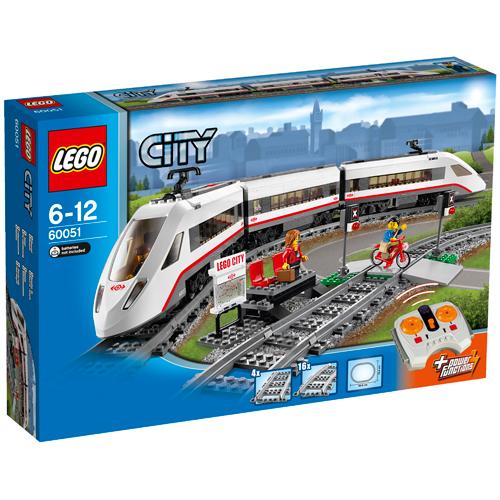 Image of   LEGO City lyntog med infrarød fjernstyring