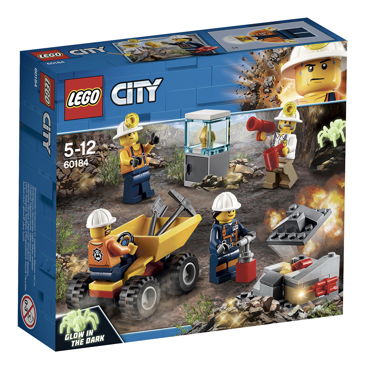Image of   LEGO City Mining Mineteam
