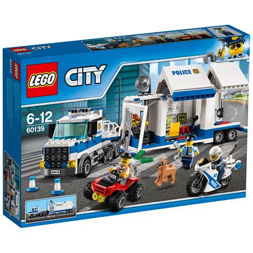 LEGO City Mobil kommandocentral