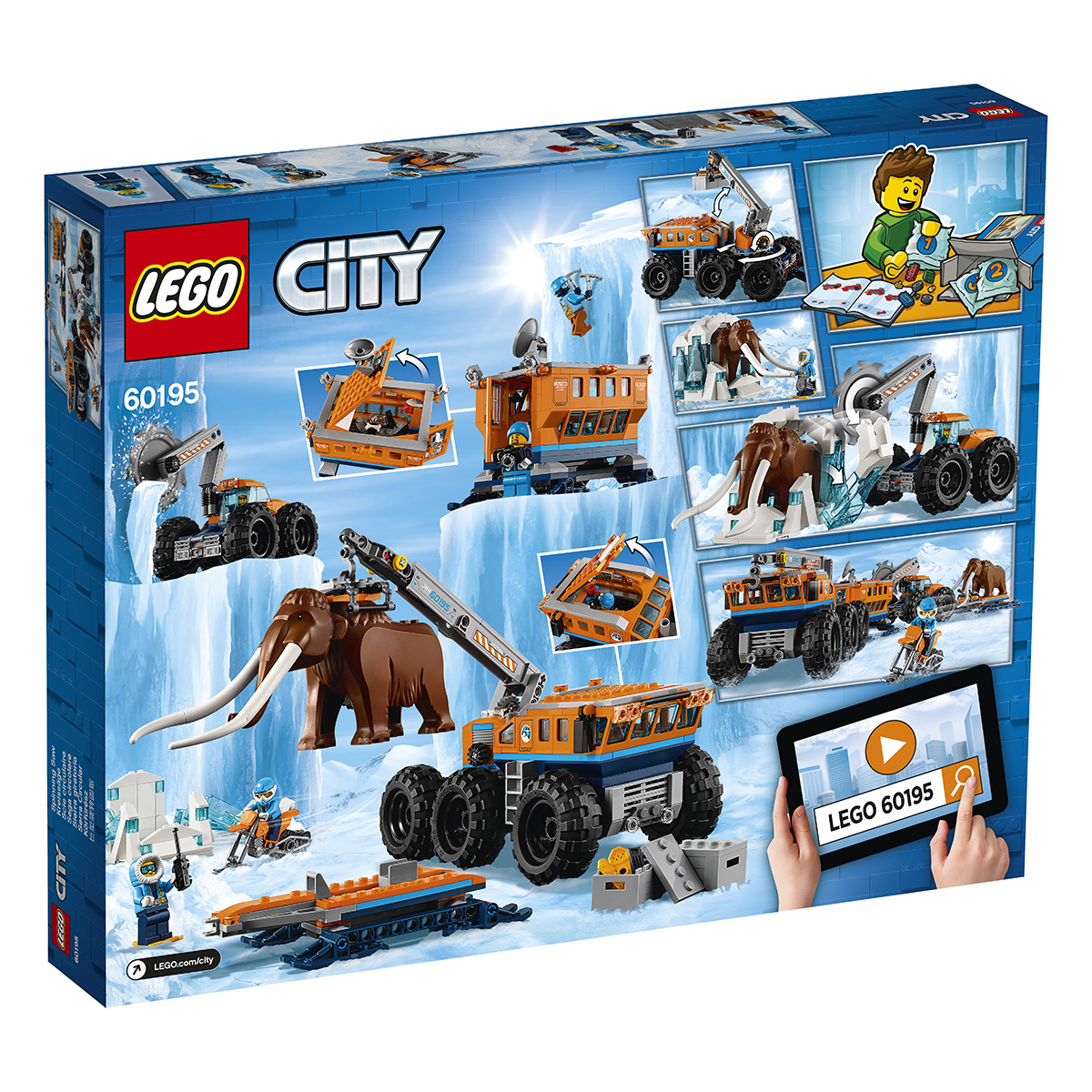 Image of   LEGO City Mobil polarforskningsbase
