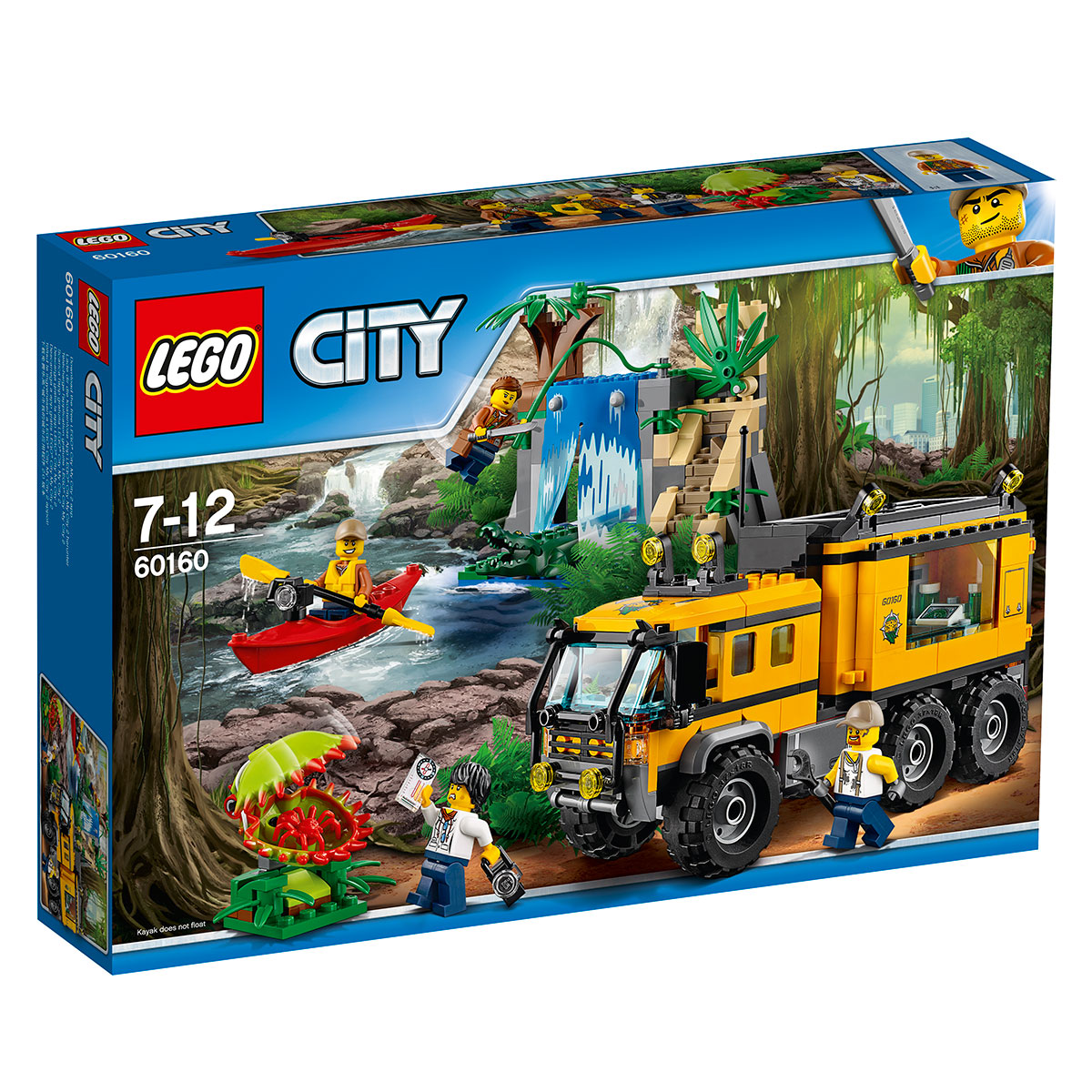 Image of   LEGO City mobilt junglelaboratorium