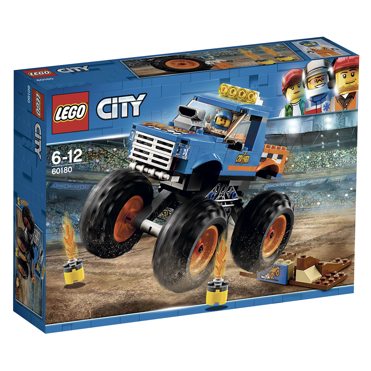 Image of   LEGO City Monsterbil