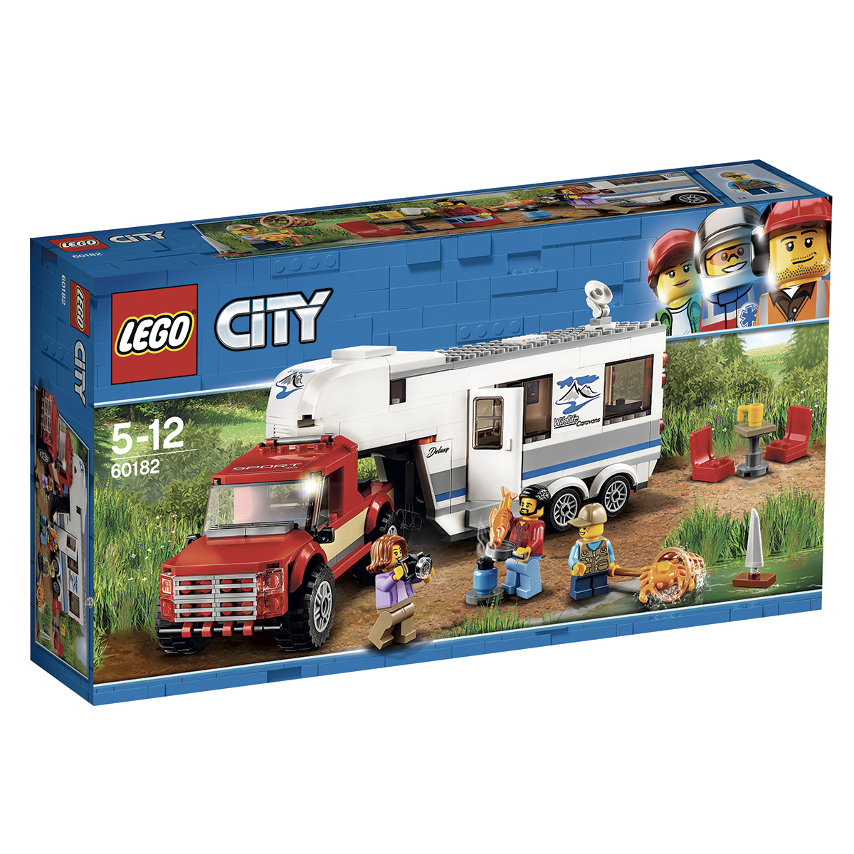 Image of   LEGO City Pickup og Campingvogn