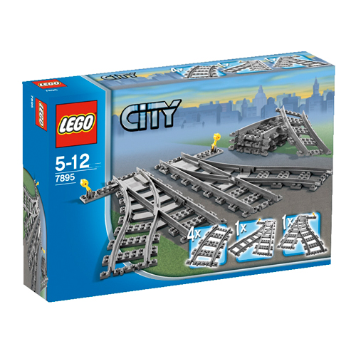 Image of   LEGO City skiftespor