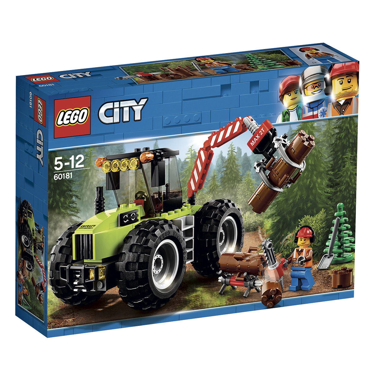Image of   LEGO City Skovtraktor
