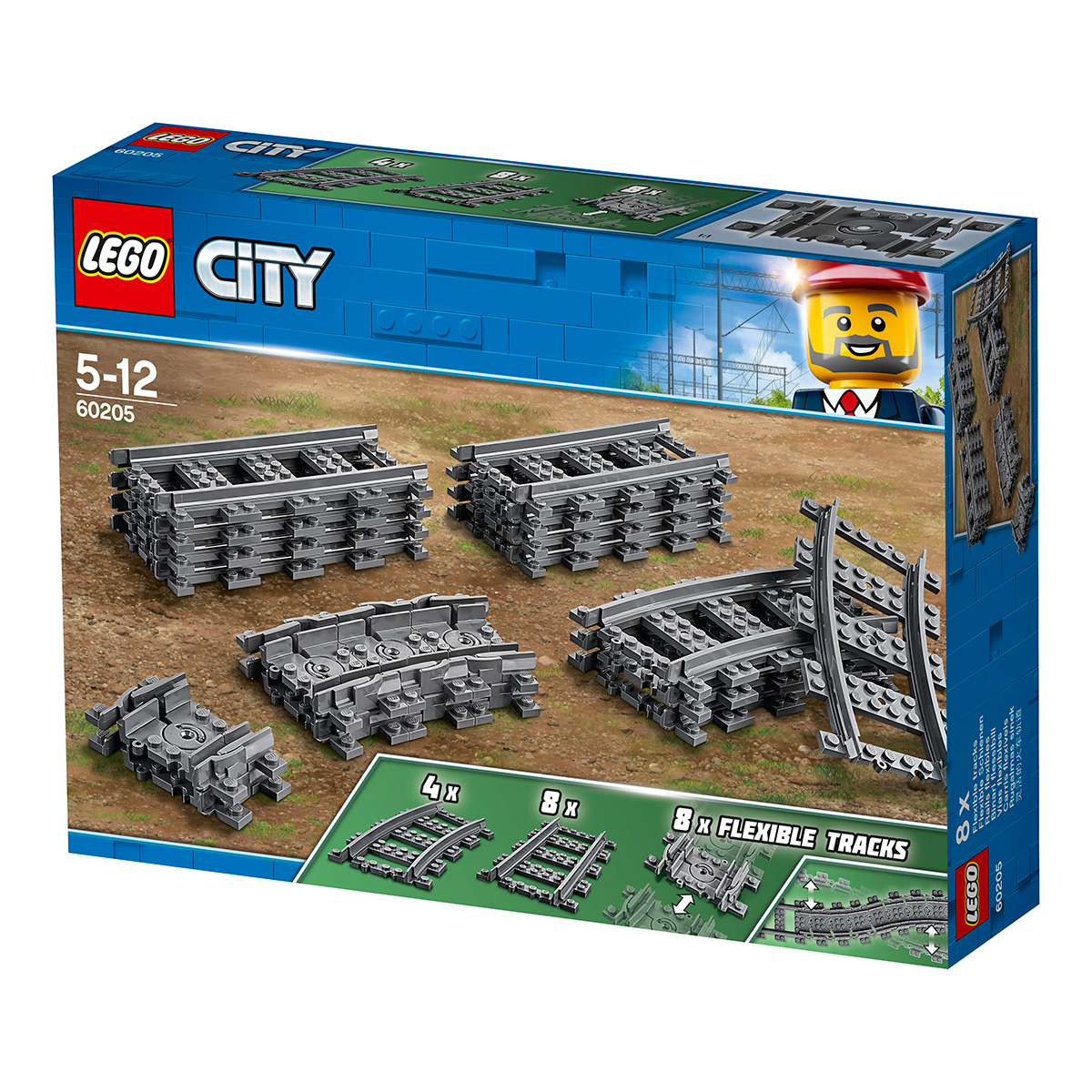 Image of   LEGO City Togskinner