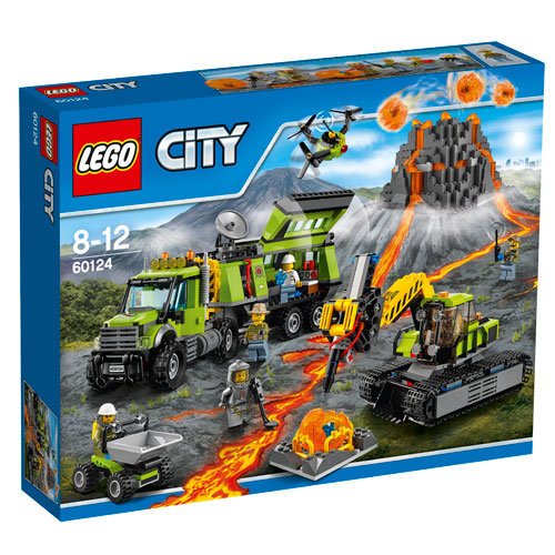 Image of   LEGO City vulkan-ekspeditionsbase