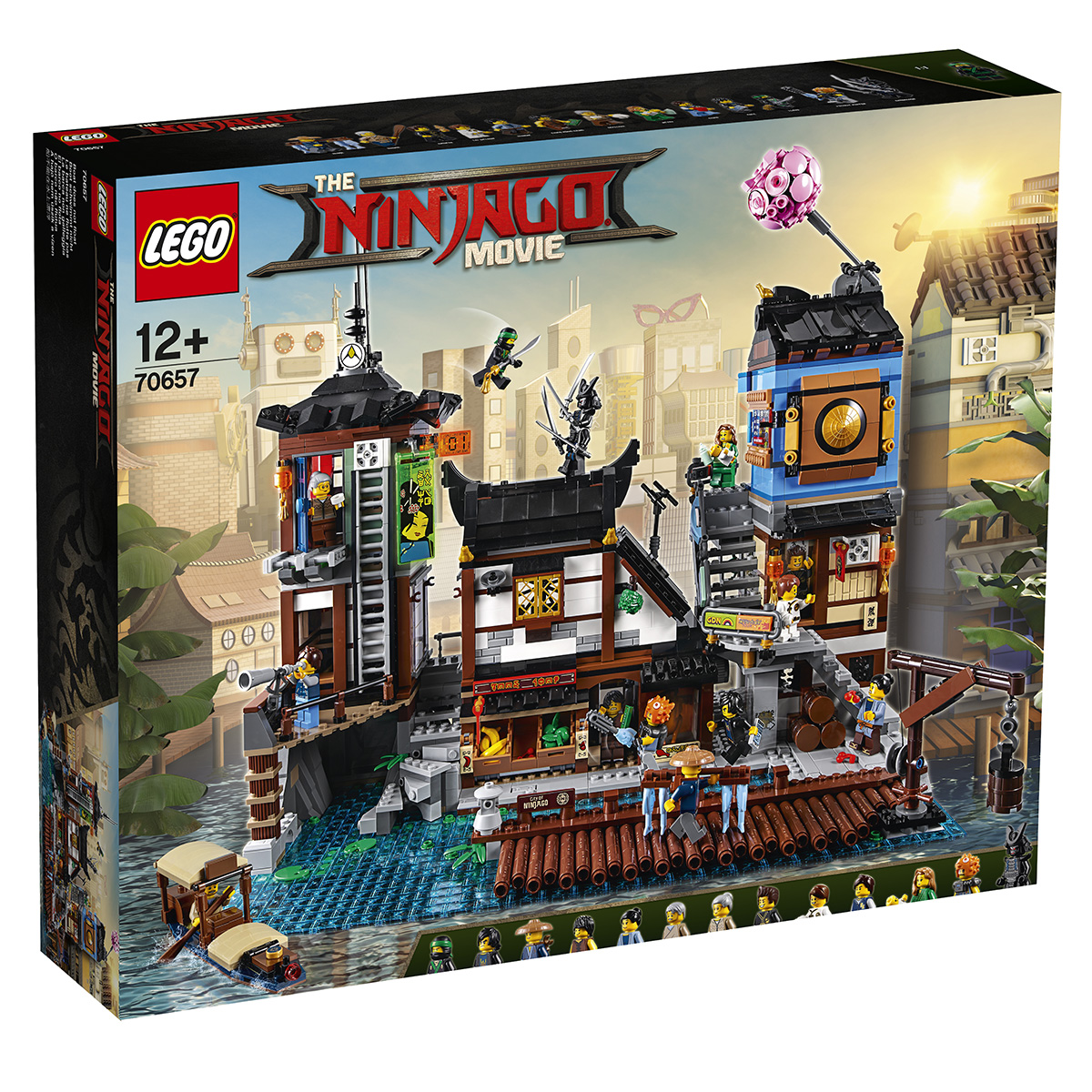 Image of   LEGO Ninjago City havn