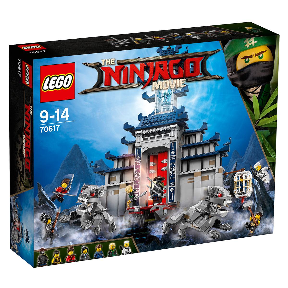 LEGO Ninjago Det ultimative ultimative våbens tempel