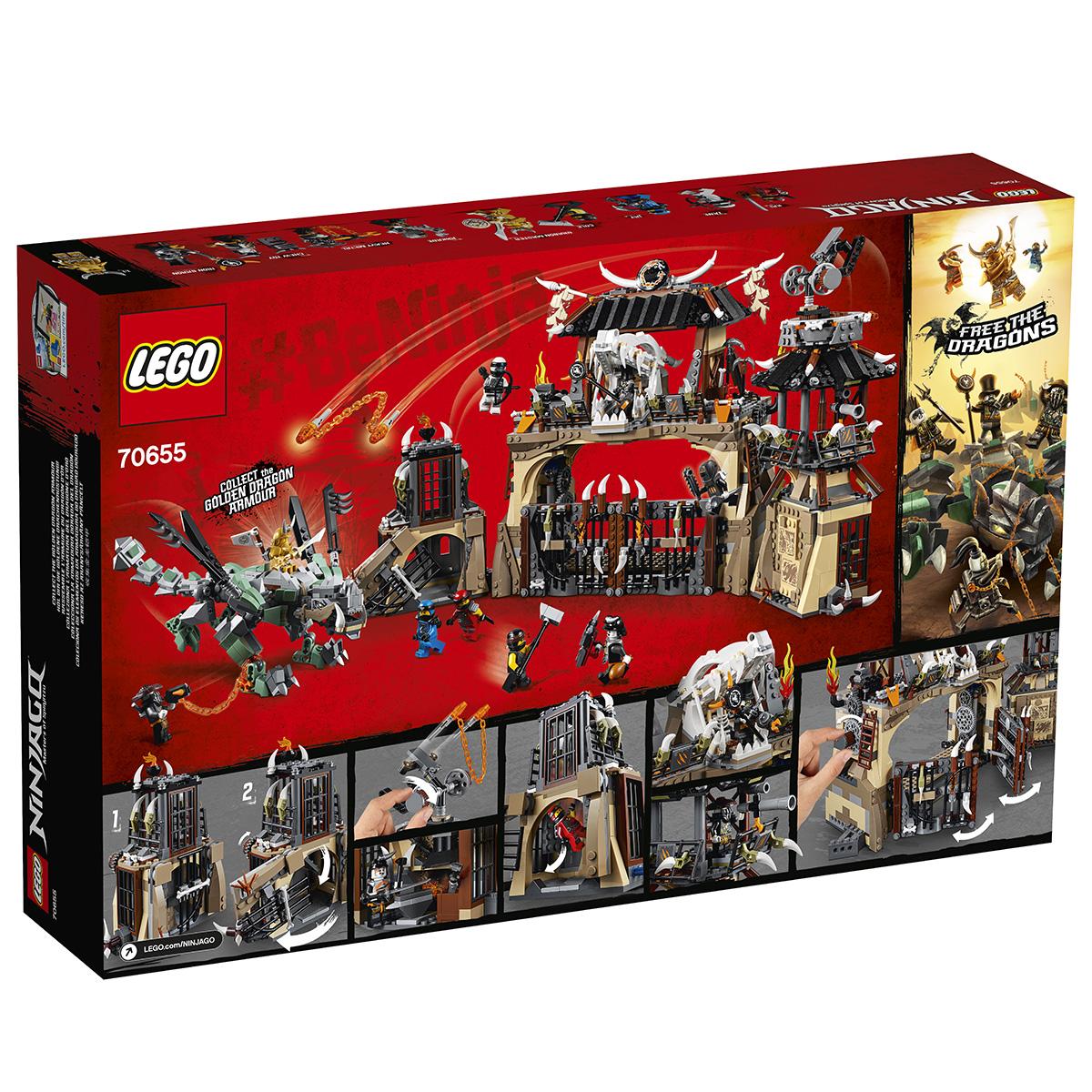 LEGO Ninjago Dragegård