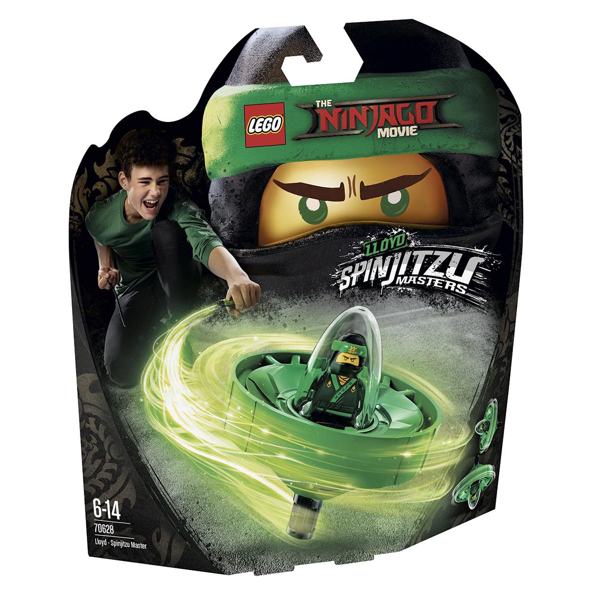 LEGO Ninjago Spinjitzu Mester Lloyd
