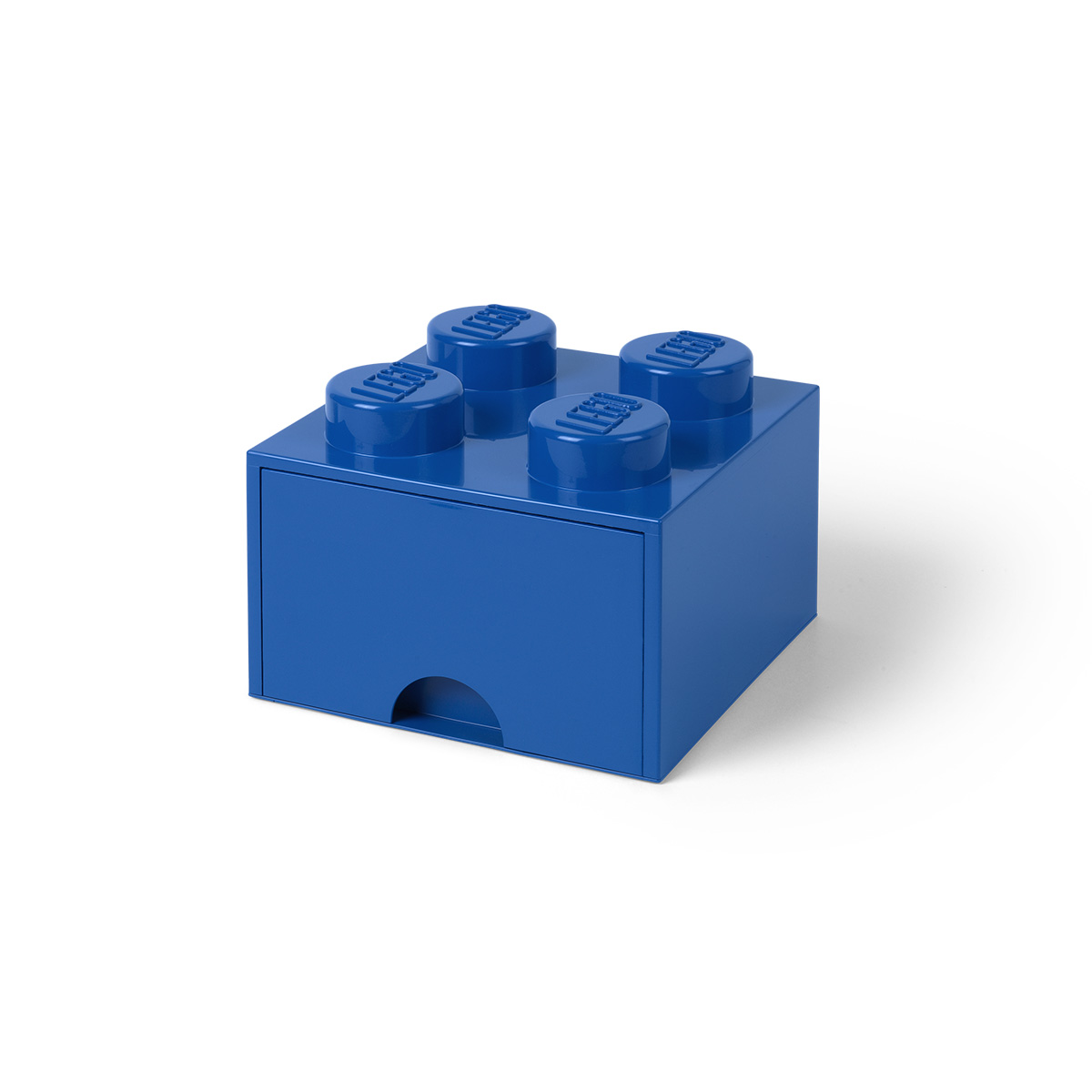 LEGO opbevaringskasse med 1 skuffe - Blå