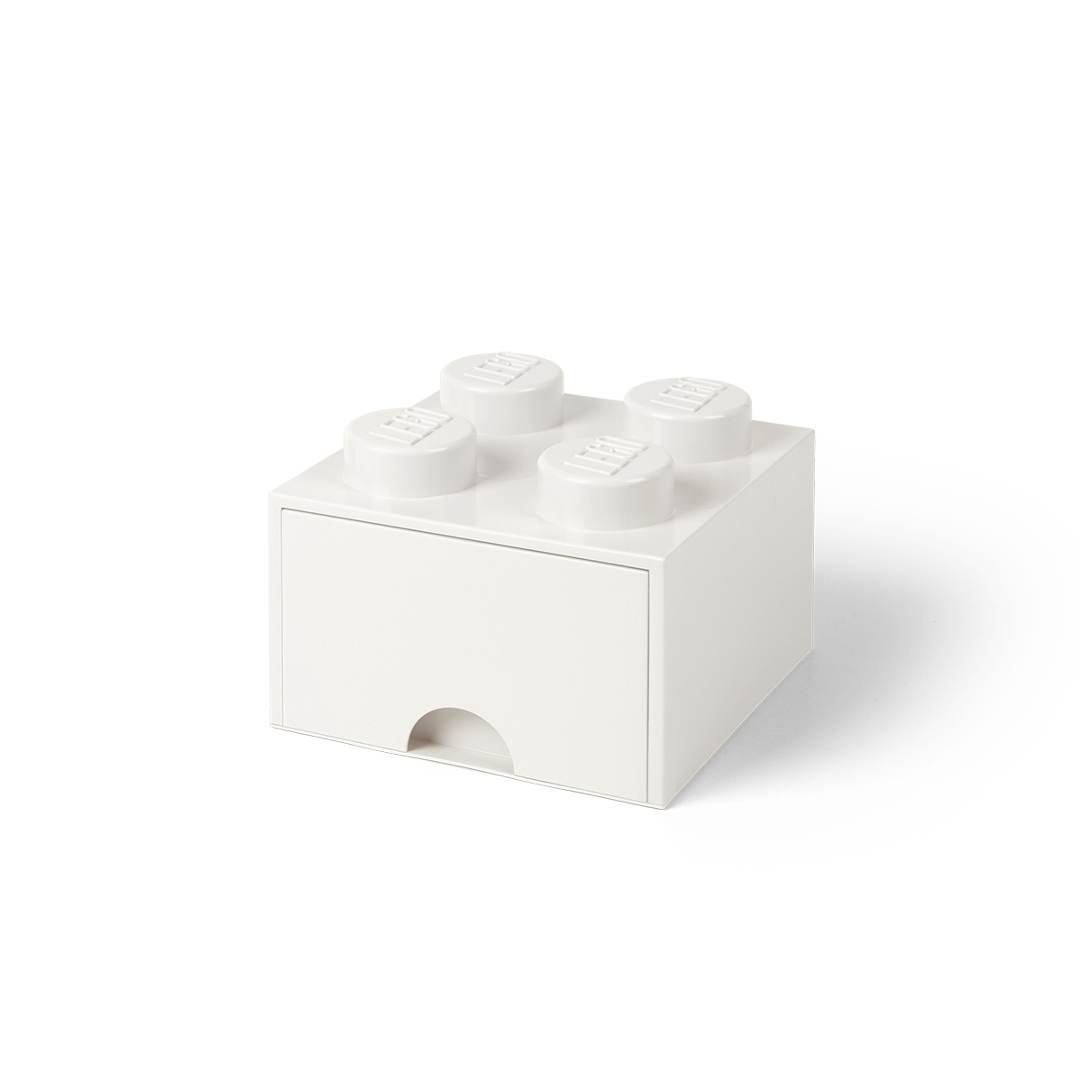 LEGO opbevaringskasse med 1 skuffe - Hvid