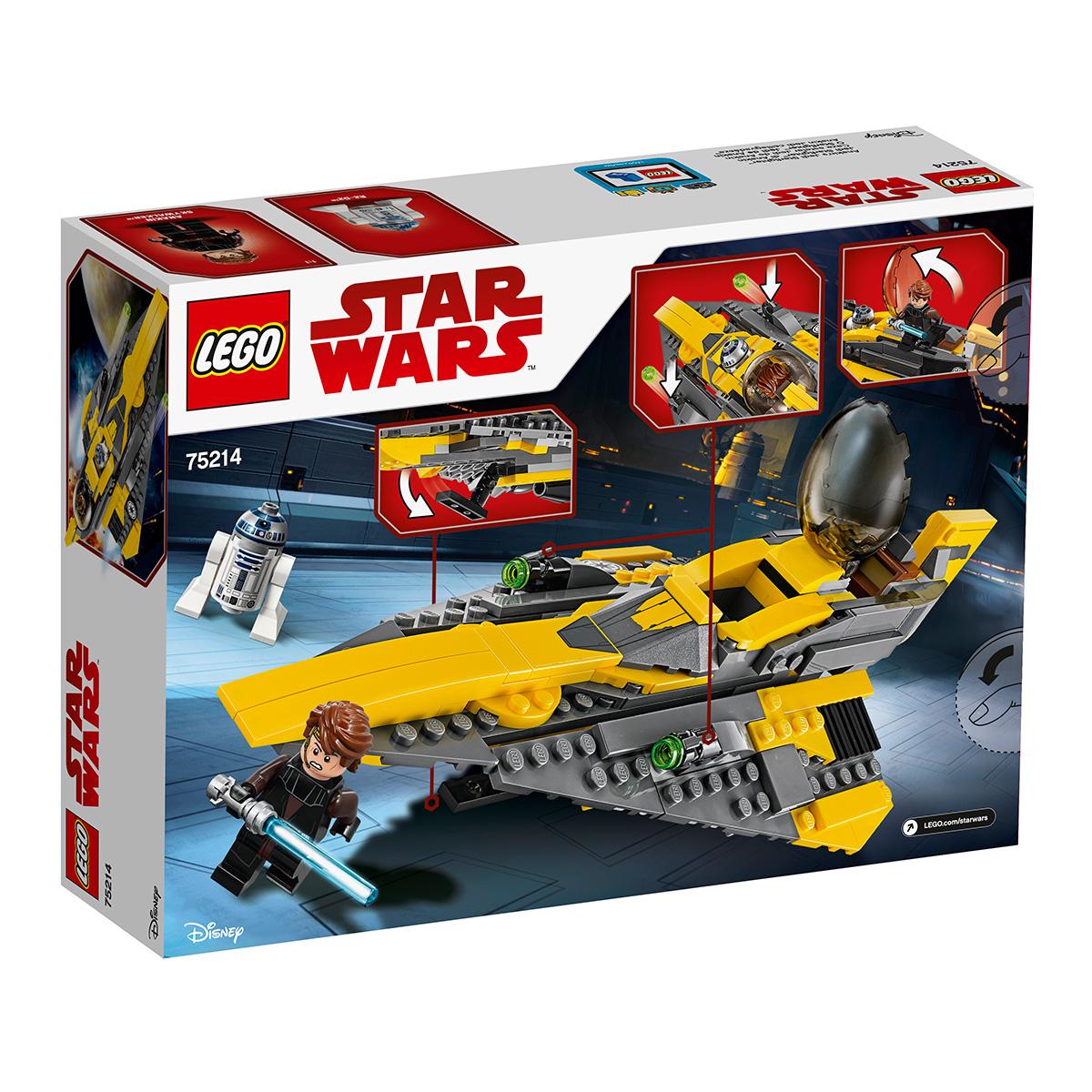 Image of   LEGO Star Wars Anakins Jedi-stjernejager